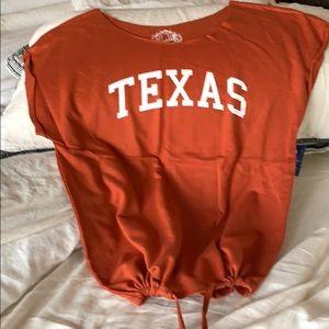 Texas short sleeve sweatshirt
